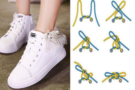 鞋带花样系法—简单易学编出不同魅力
