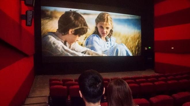 三星led影院屏亮相上海万达五角场电影电影院步入无放映机时代?奇门遁甲电影英文名图片
